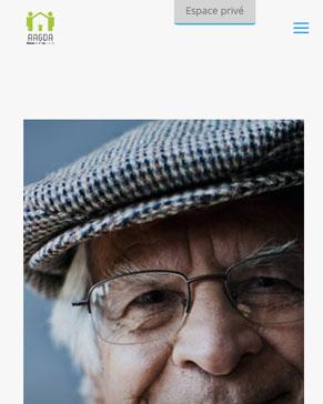 Site internet de l'AAGDA version responsive